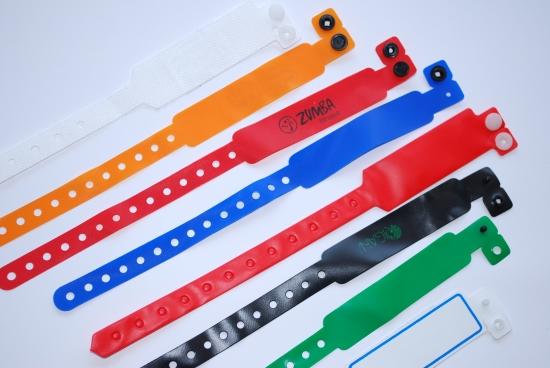PVC гривни за еднократна употреба