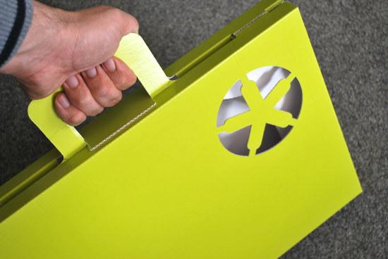 Куфарче вместо папка за материали