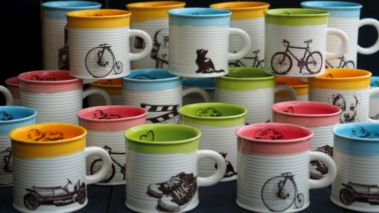 ръчно изработени чаши