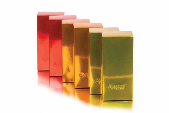 Луксозни козметични опаковки от ново поколение