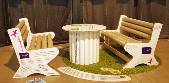 Хартиени мебели
