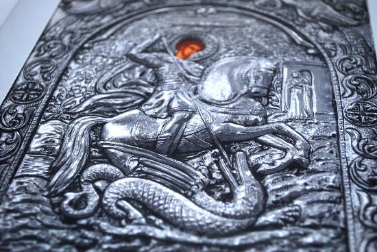 Отпечатани икони с ефекти на релеф и металик