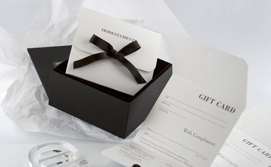 Луксозен ваучер за подарък
