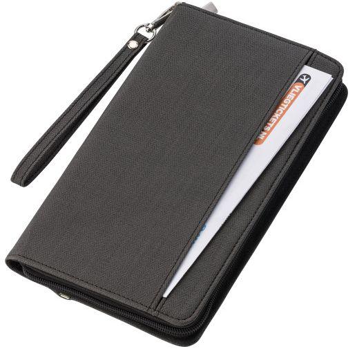 Папка за писане с батерия за зареждане на мобилен телефон