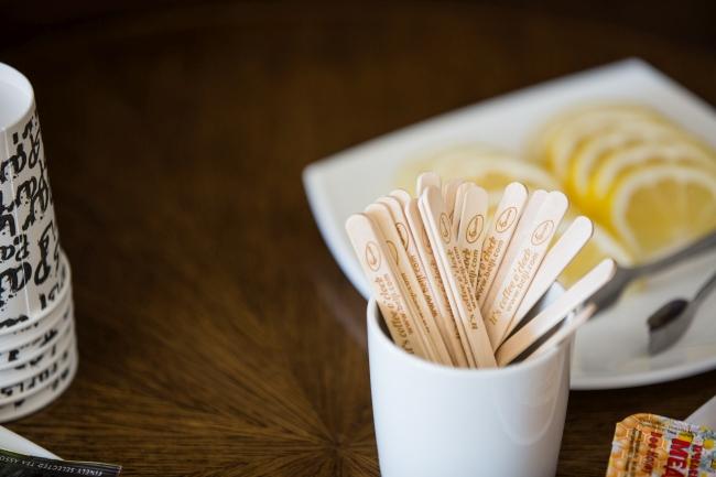 Гравирани бъркалки за топли напитки
