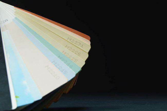 Цветна скала за бои и мазилки