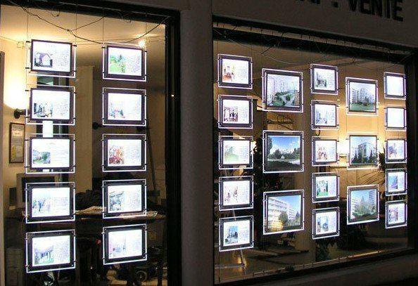 Светещи LED дисплеи за витрина