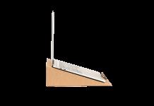 Еко поставка за лаптоп Chocolate Paper