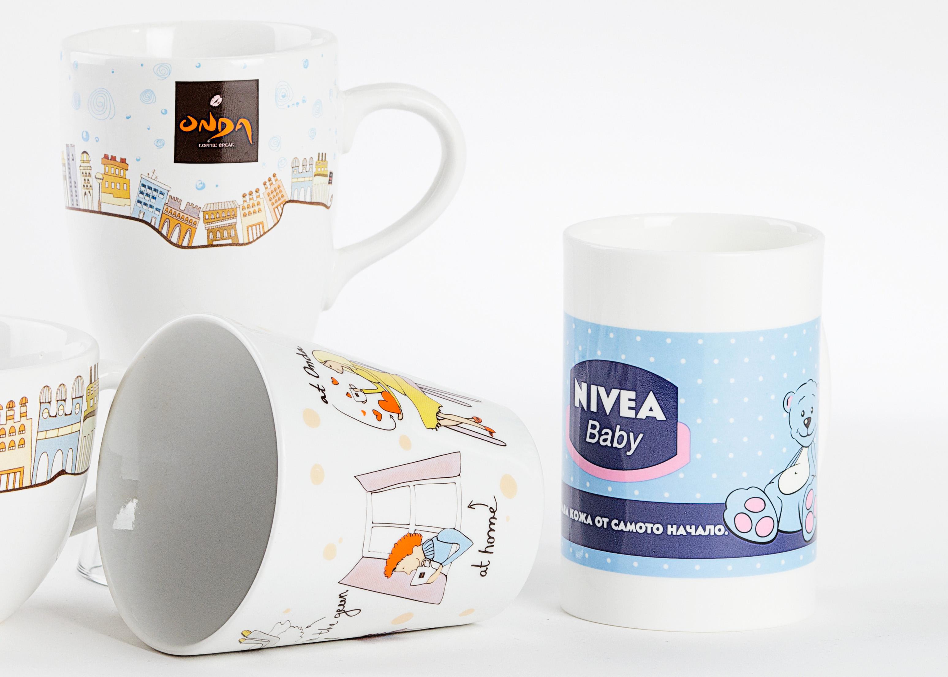 Печат на чаши за кафе и капучино