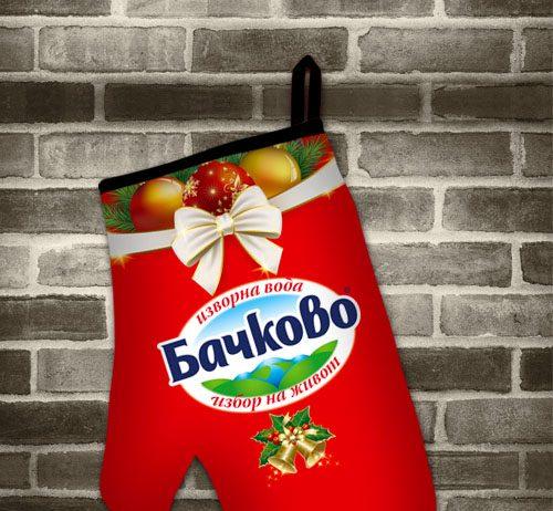 брандирана ръкавица за готвене