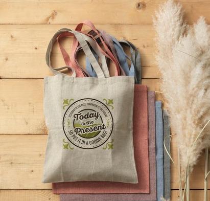 Текстилни торби от рециклиран памук