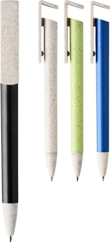 химикалка и поставка за телефон