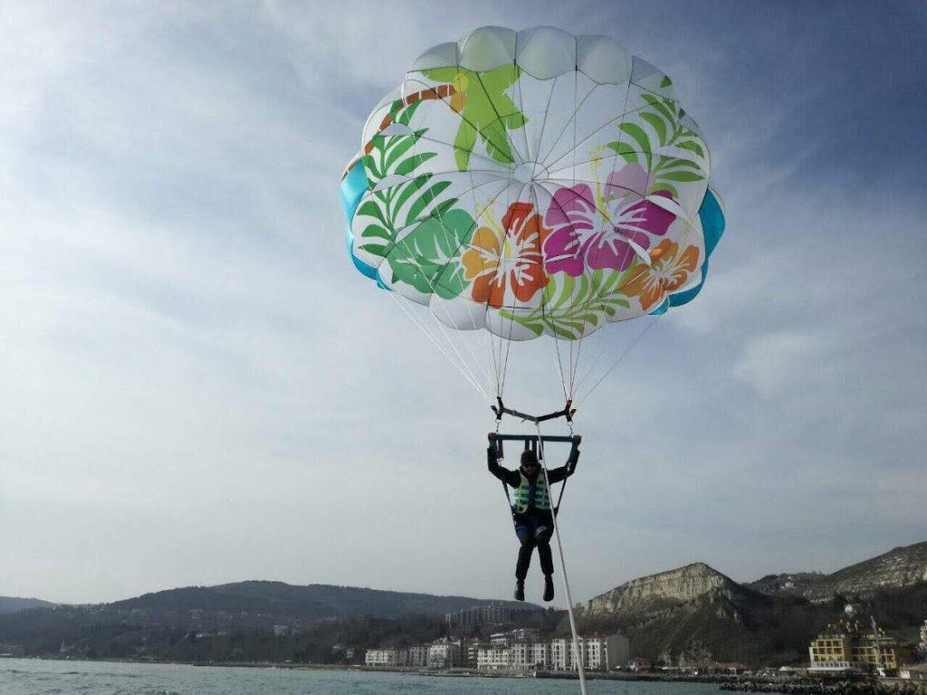 парашут с печат